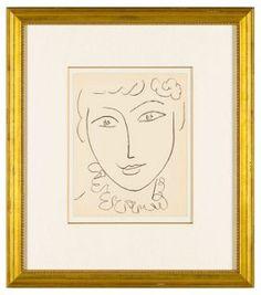Matisse, Tête de Femme