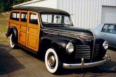 1940 Plymouth Wagon