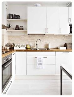 small kitchen ideas set white cabinets wood textures interior device dining area sets for sale pract kitchen interior small kitchen set Kitchen Dinning, Kitchen Sets, New Kitchen, Kitchen Decor, Dining Room, Kitchen White, Country Kitchen, Dining Area, Küchen Design