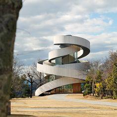 hiroshi nakamura NAP ribbon chapel spiral hiroshima japan designboom