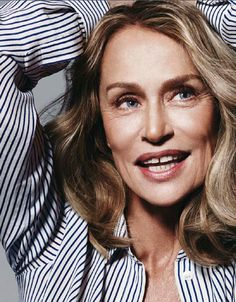 Gap-toothed lady: Lauren Hutton in ELLE France