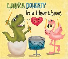A sweet gift idea for Valentine's Day: New kids' music album In a Heartbeat by Laura Doherty