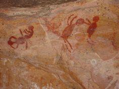 Parque Nacional da Serra da Capivara - Piauí - Brasil - sítios arqueológicos                                                                                                                                                      Mais