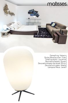 Experiencia Matisses: Una habitación con acentos cremosos y ocres da sensación de bienestar; para una estancia con mucho espacio se aconseja incluir un sofá