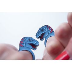 #etsyrunway Dinosaur ring by designosaur