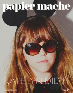 "papier-machemagazine: "" issue going katelyn did it so its excellent! Editorial Design, Children Photography, Cute Kids, Kids Fashion, Geneva Switzerland, Magazine Covers, Layout, Doll, Graphics"