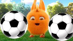 Sunny Bunnies Cartoons || SUNNY BUNNIES PLAY FOOTBALL TEAM  NEW SEASON F...
