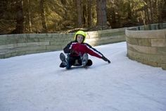 Naseby, Central Otago. Naseby is the home of its own luge track. http://www.centralotagonz.com/naseby-luge