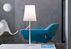 Foscarini Birdie Grande Tavolo white Desk Lamps Table Lamps