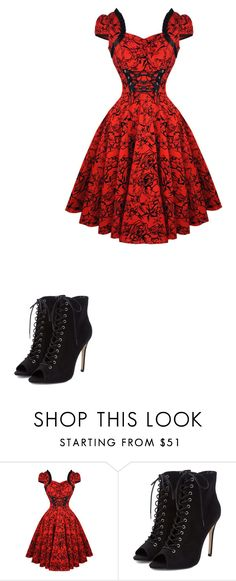 """Untitled #407"" by lindethiel on Polyvore"