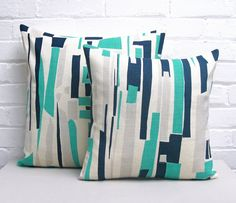 Tamasyn Gambell | Topsy Turvy Cushions | www.tamasyngambell.com Small Cushions, Cushion Pads, Screen Printing, Taupe, Projects To Try, Shapes, Throw Pillows, Prints, Patterns