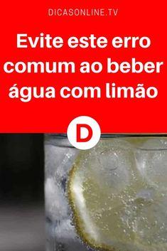 Evite este erro comum ao beber água com limão