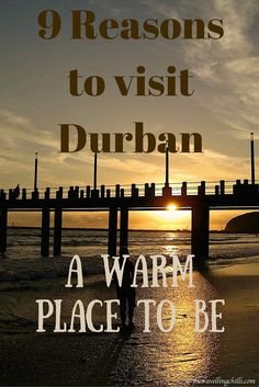 Durban is a buzzing coastal metropolis, located on the shores of the indian ocean in South Africa. There are many reasons to visit Durban. Durban South Africa, Visit South Africa, Places To Travel, Places To See, Travel Destinations, South Africa Holidays, Kwazulu Natal, South America Travel, Africa Travel