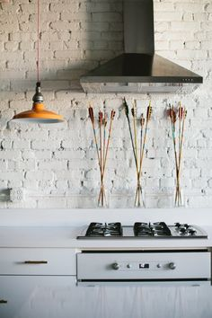 Veronica Valencia's new, fresh industrial lighting designs make the perfect addition to any space // Kitchens