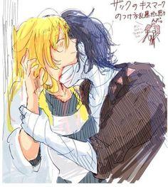 satsuriku no tenshi and angel of slaughter Bild Cute Couple Art, Anime Love Couple, Cute Anime Couples, Anime Angel, Anime Demon, Angel Of Death, Manga Anime, Tragic Love, Dark Anime Guys