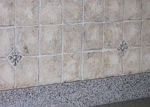 create faux tile backsplash diy! very easy and affordable!!