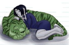 ~ Raven and Beast Boy - Bbrae