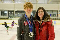 Olympic Medalist Visits YRSA - York Region Skating Academy
