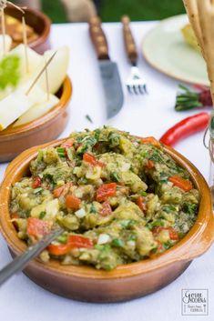 Healthy Recipes For Diabetics, Healthy Meals For One, Healthy Gluten Free Recipes, Healthy Crockpot Recipes, Healthy Salad Recipes, Raw Food Recipes, Beef Recipes, Vegetarian Recipes, Eggplant Salad