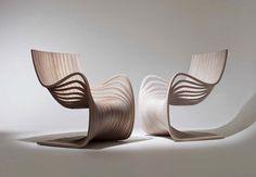 Cadeira Pipo - elegantes curvas harmônicas