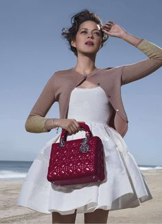 Local Shop-   Marion Cotillard Photographed by Jean Baptiste Mondino for Lady Dior Winter 2012
