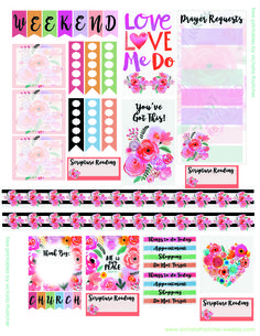 Printable Journal & Planner Stickers