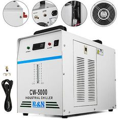 Ad Ebay 110v 60hz Cw 5000dg Industrial Water Chiller For One 80w 100w Co2 Glass Laser In 2020 Water Chillers Laser Engraving Machine Industrial Extractor Fan
