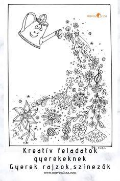 Kreatív feladatok gyerekeknek, színezők, szerezz ötleteket, húsvétra is katt a cikkre. Vintage World Maps, Diagram, Art, Art Background, Kunst, Performing Arts, Art Education Resources, Artworks
