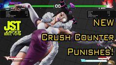 -SFV s2- Juri New Crush Counter Punishes (V-Skill Cancel + EX Extension)