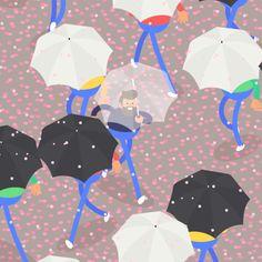 Tokyo Gifathon Day 9 Sakura showers.