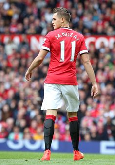 Following the retirement of Ryan Giggs in May 2014, Adnan Januzaj was handed the @manutd legend's no.11 shirt as a reward for his fine performances during the 2013/14 season.
