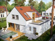 Dom, który łączy atrakcyjną formę, ergonomiczną funkcjonalność i nowoczesne, energooszczędne rozwiązania.