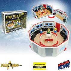Star Trek: TOS Pin Mate Enterprise Playset – EE Exclusive - Bif Bang Pow! - Star Trek - Pin Mates at Entertainment Earth