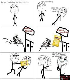 Lays(Potato Chips) Saving A Life! :D