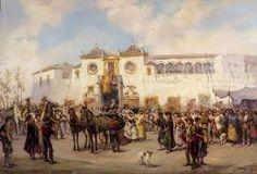 Real Maestranza de Caballería de Sevilla. Pinturas www.realmaestranza.com1217 × 831Buscar por imagen José Elbo. Toros vadeando un río. jose jimenez aranda pinturas - Buscar con Google
