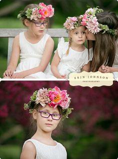 www.erinjohnsonphoto.com Flower Crown