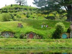 hobbit homes | Hobbit houses | Beautiful Places