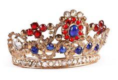 French Repoussé Brass Tiara on OneKingsLane.com