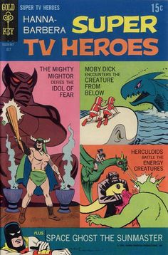 Cover for Hanna-Barbera Super TV Heroes (1968 series) #6