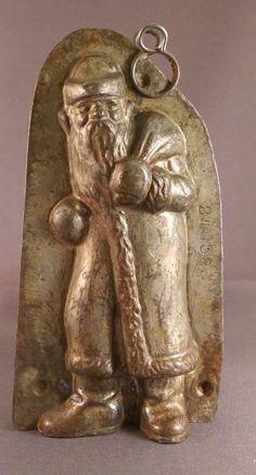 Anton Reiche Antique Santa/ Father Christmas Chocolate Mold | eBay