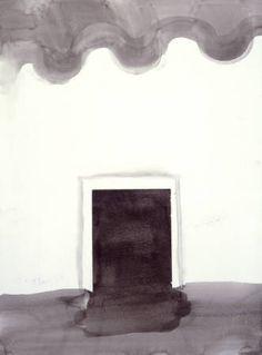 Georgia O'Keeffe, Untitled (Patio Door) 1970's Georgia O'keeffe, Georgia On My Mind, Alfred Stieglitz, Wisconsin, Georgia O Keeffe Paintings, New York Buildings, Art Students League, New York Art, Art Institute Of Chicago