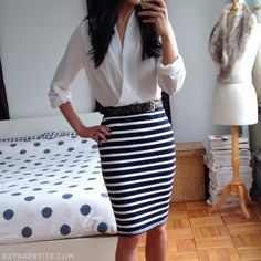 Gorgeous white blouse: Pleione crossover draped top