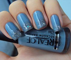 39 Glitter Nail Polish Ideas at this link. I like the sparkles on the tip only on this one.