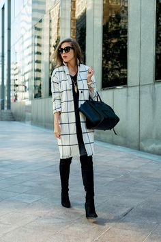 Plaid Coat • For the Love of Fancy