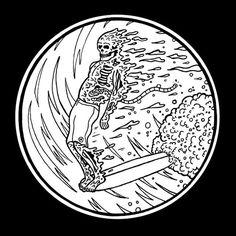 TEN Sketchy Tank in Illustration