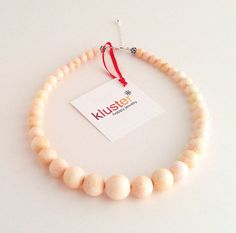 Graduated Coral Necklace by Kluster