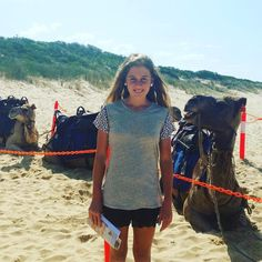 Went camel riding again with the family #2ndtime #easternbeach by amelia_lazzaro http://ift.tt/1JtS0vo