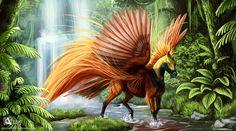 Raggiana horse of paradise by Azany on deviantART