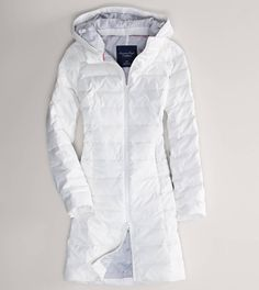 AE Quilted Puffer Coat