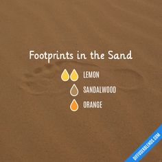 Footprints in the Sand - Essential Oil Diffuser Blend